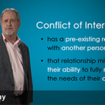 Analyzing a Conflict of Interest