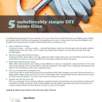 Simply DIY home fixes