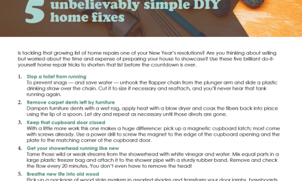 FARM: 5 unbelievably simple DIY home fixes