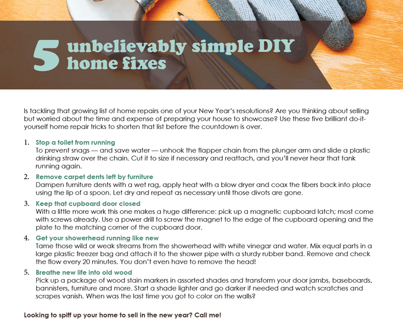 FARM: 5 unbelievably simple DIY home fixes