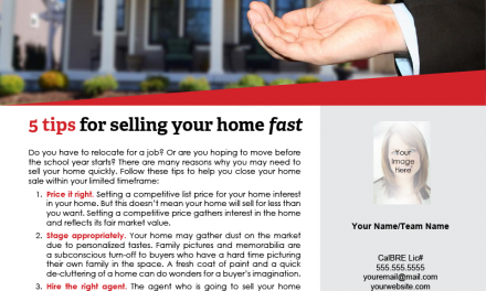 FARM: 5 tips for selling your home fast