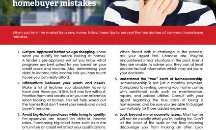 FARM: 6 tips to avoid common homebuyer mistakes