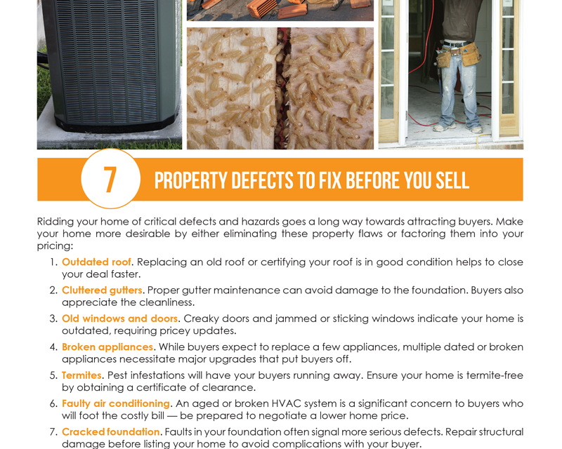 FARM: 7 property defects to fix before you sell