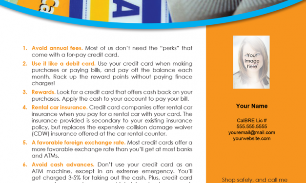 FARM: 8 tips for smart credit card use