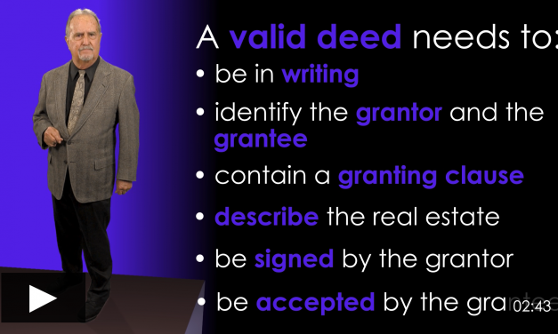 A Deed by Any Name is a Grant