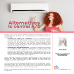 A/C alternatives