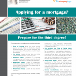Applying for a mortgage