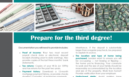 FARM: Applying for a mortgage?