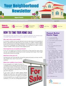 FARM: April newsletter