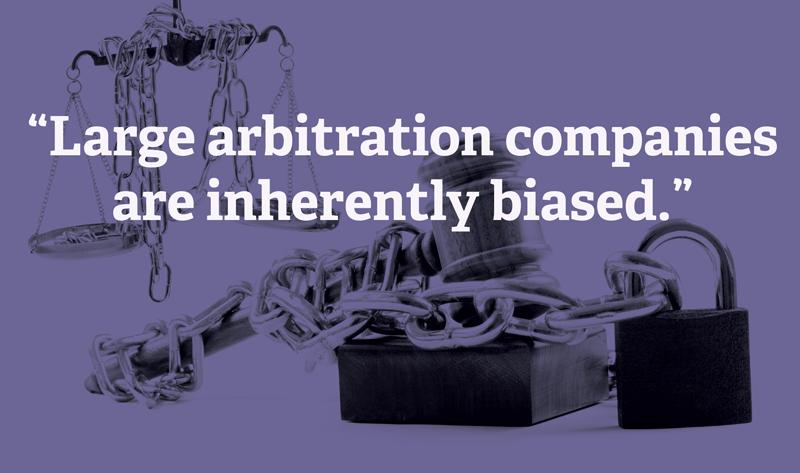 Arbitration-biased