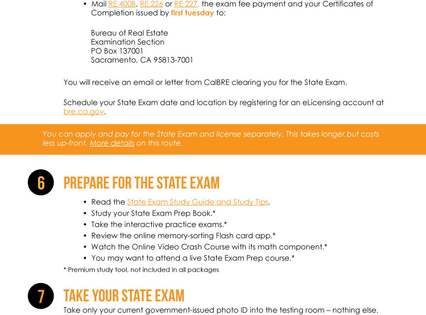 Infographic: Becoming A Broker (combined exam and license apps)