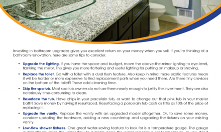 FARM: Bathroom update tips