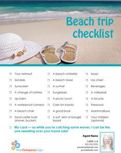 FARM: Beach Trip Checklist