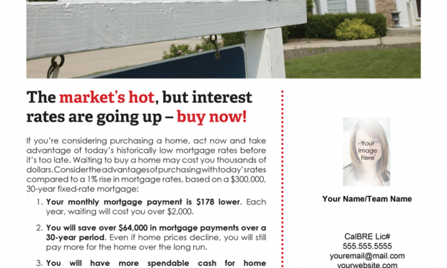 FARM: The market's hot, but interest rates are going up – buy now!