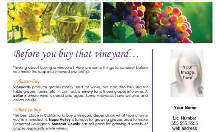 FARM: Before you buy that vineyard…