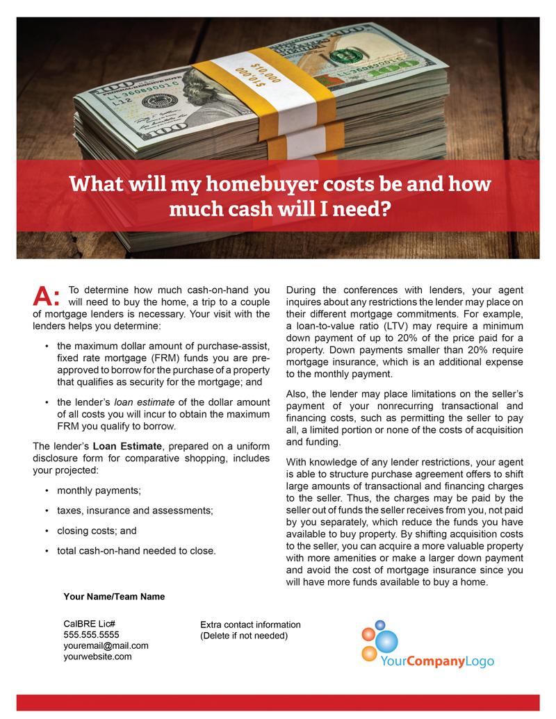 Buyer-Costs