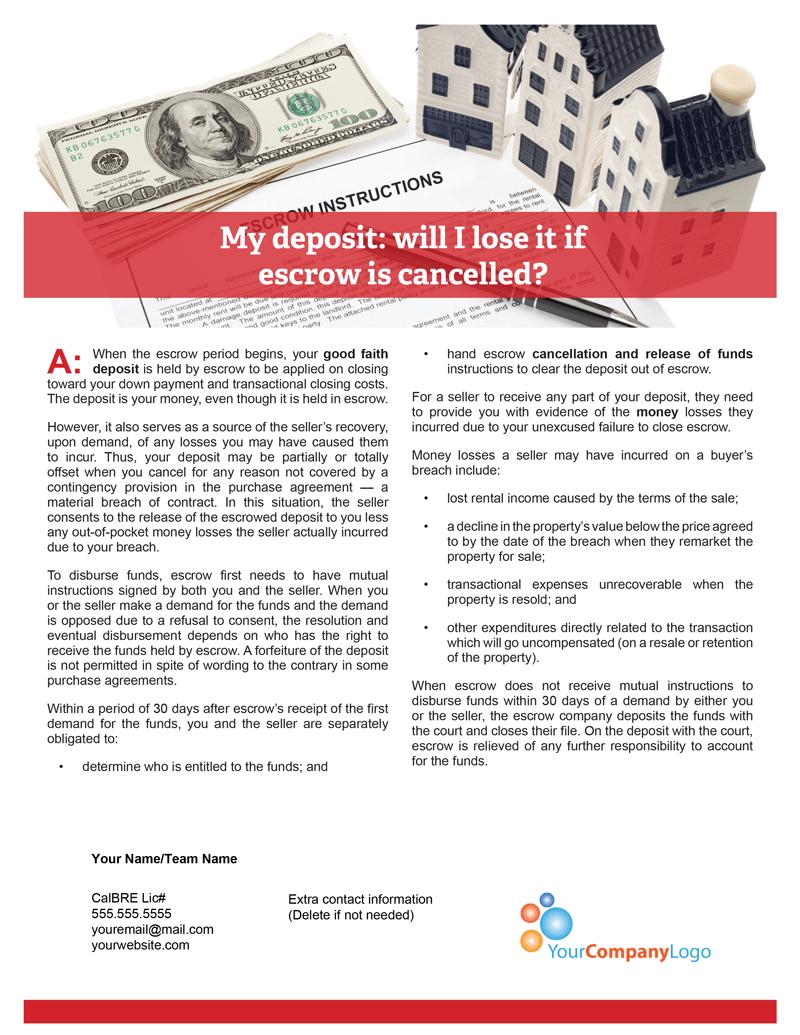 Buyer-Deposit-Escrow