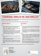 FARM: Charcoal grills vs. gas grills?