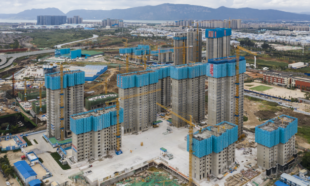 China's looming real estate crisis casts a shadow in California