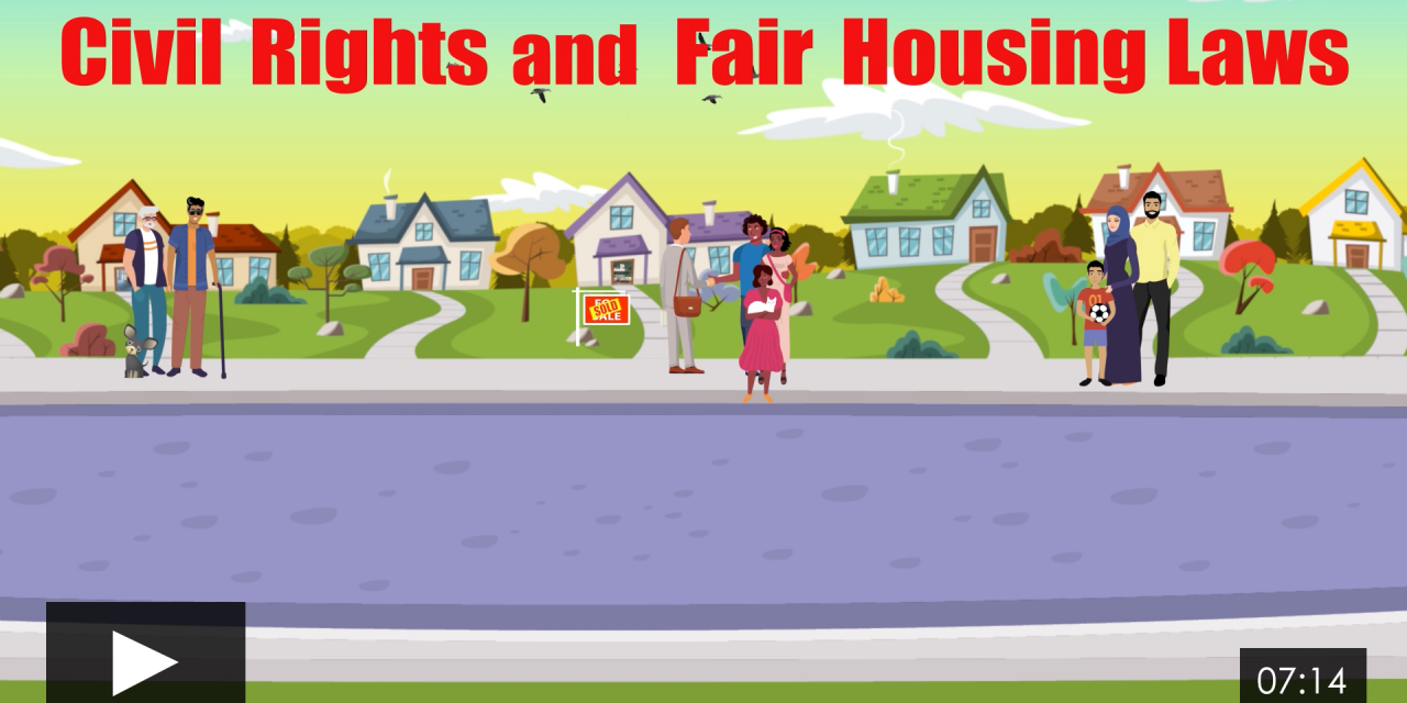 Civil Rights and Fair Housing Laws