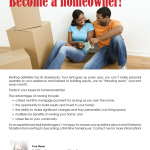 Renters to buyers