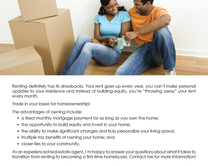 FARM: Tired of the pitfalls of renting? Become a homeowner!