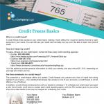 Credit freezes