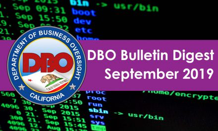 DBO Bulletin Digest September 2019