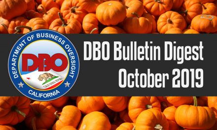 DBO Bulletin Digest October 2019