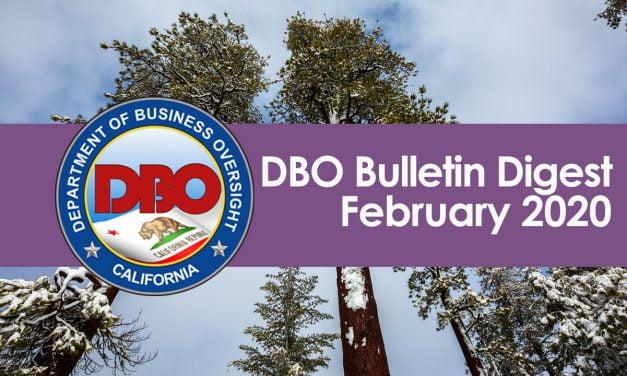DBO Bulletin Digest February 2020