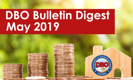 DBO Bulletin Digest May 2019