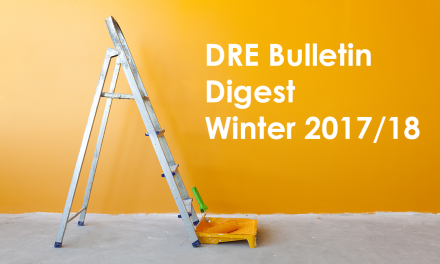 Winter 2017/18 DRE Real Estate Bulletin Digest