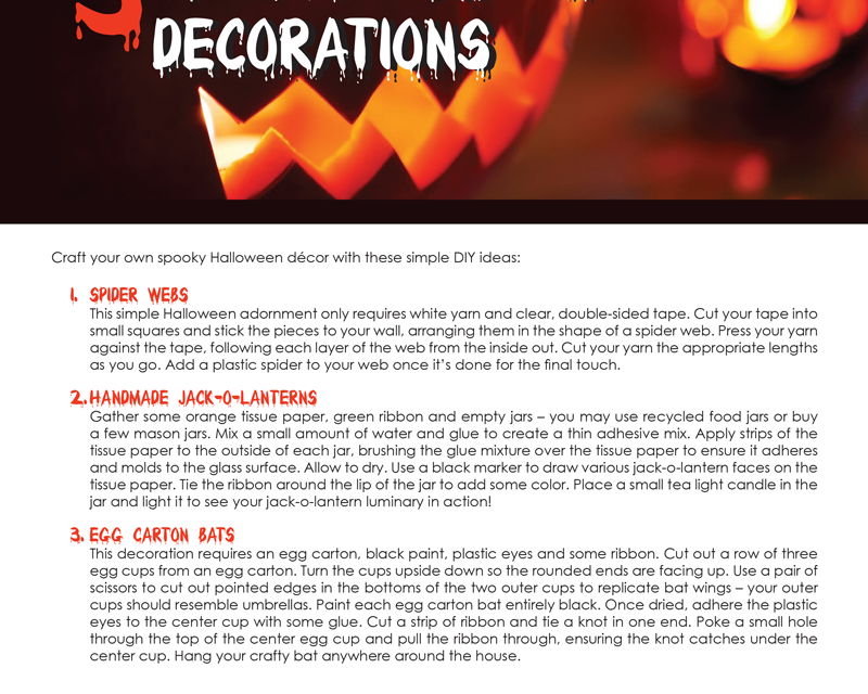 FARM: 3 DIY Halloween decorations