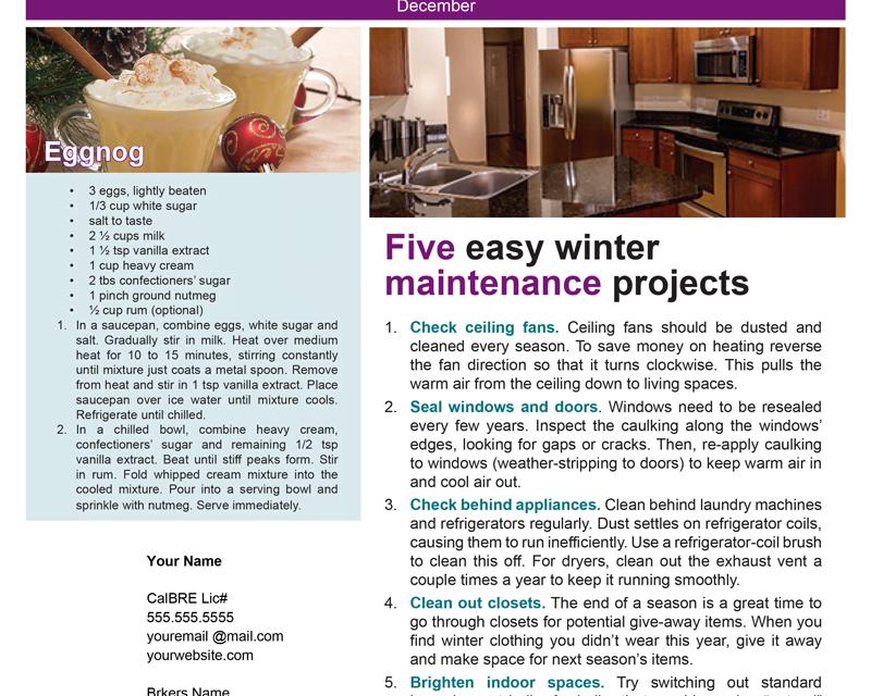 FARM: December Newsletter – D4