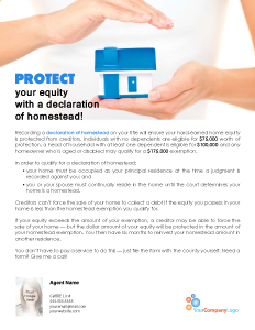 FARM: Protect your equity with a declaration of homestead