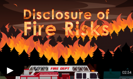 Disclosure of Fire Risks