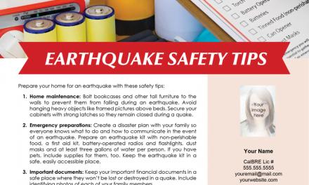 FARM: Earthquake safety tips