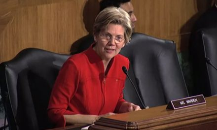 Senator Warren at Banking Committee Hearing