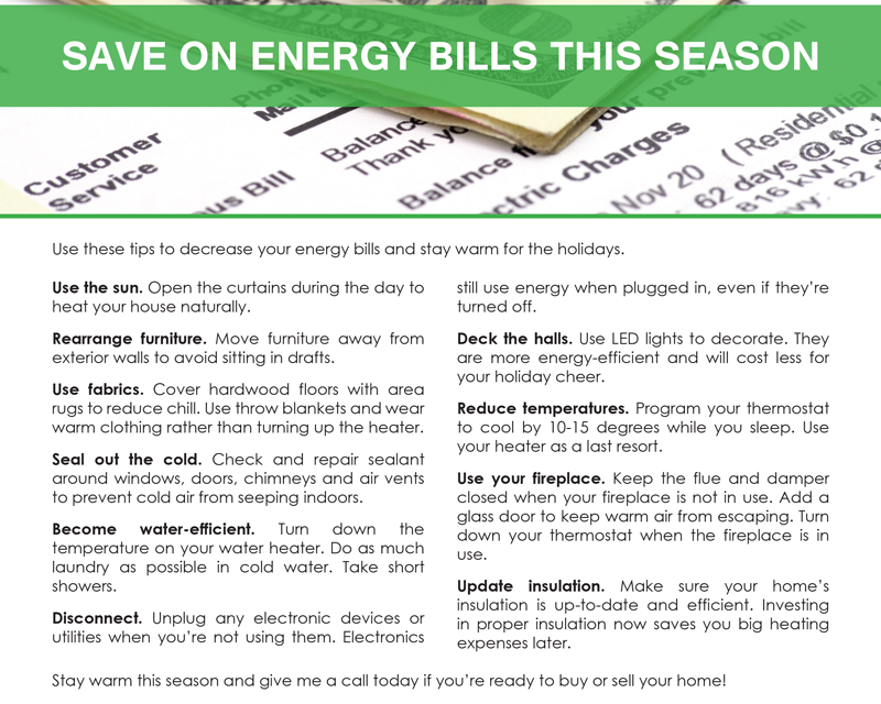 FARM: Save on energy bills this season