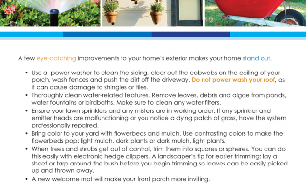 FARM: Tips to enhance your curb appeal