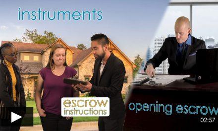 Escrow Basics