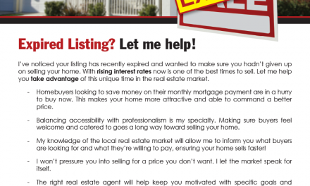 FARM: Expired listing? Let me help!