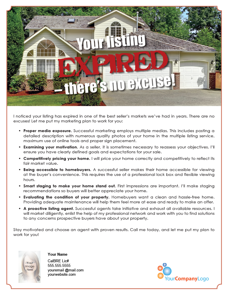 Farm Your Listing Expired There S No Excuse First Tuesday Journal