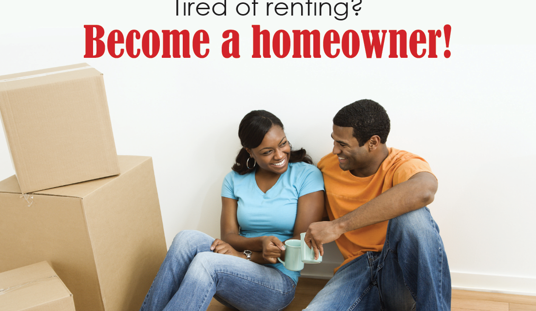 FARM: Tired of renting? Become a homeowner! – postcard