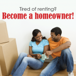 Become a homeowner postcard