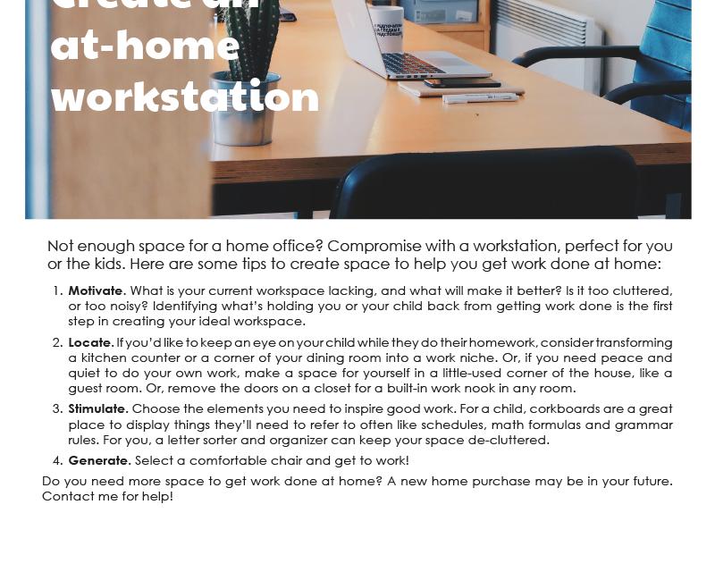 FARM: Create an at-home workstation