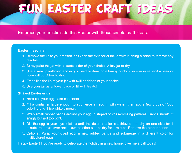FARM: Fun Easter craft ideas