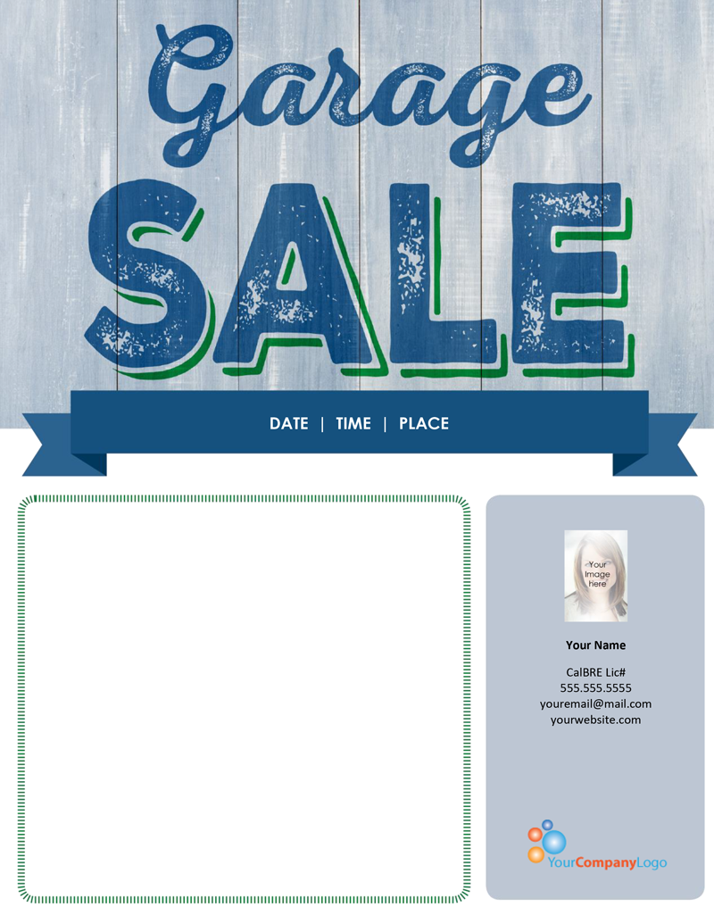 FARM Garage Sale – Ms Word for Sale