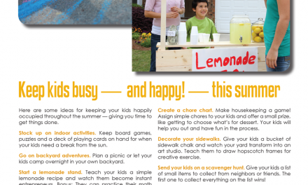 FARM: Keep kids busy — and happy! — this summer