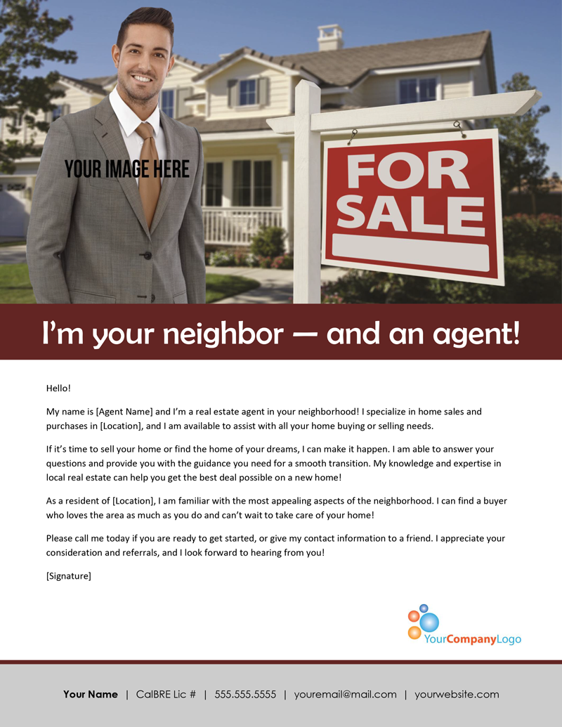 templating agent - unique real estate marketing postcard templates collection